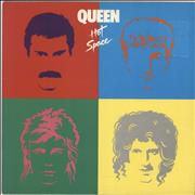 Click here for more info about 'Queen - Hot Space - VG/EX'