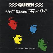 Click here for more info about 'Hot Space Tour '82 + Ticket stubs'