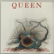 Queen I'm Going Slightly Mad - EX UK shaped picture disc