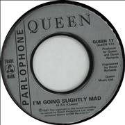 Click here for more info about 'Queen - I'm Going Slightly Mad - jukebox'
