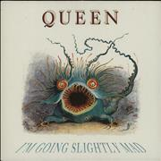 Click here for more info about 'Queen - I'm Going Slightly Mad'