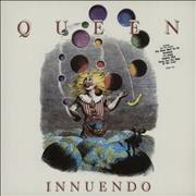 Click here for more info about 'Queen - Innuendo - Hype stickered sleeve - EX+'