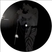 Click here for more info about 'Queen - Interview Picture Disc - b&w'