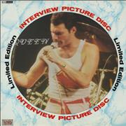 Click here for more info about 'Queen - Interview Picture Disc'