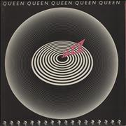 Click here for more info about 'Queen - Jazz + Attached Poster - VG/EX'