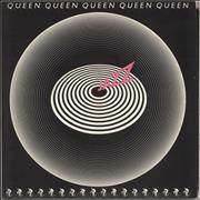 Click here for more info about 'Queen - Jazz + Attached Poster - VG'