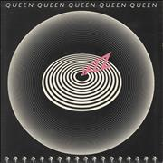 Click here for more info about 'Queen - Jazz - 1st + Poster - VG'
