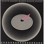 Queen Jazz - 1st + Detached Poster + Inner - EX UK vinyl LP