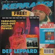 Click here for more info about 'Kerrang! Magazine - Kerrang! Magazine - May 92'