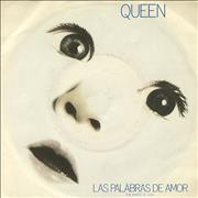 Click here for more info about 'Queen - Las Palabras De Amor'