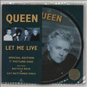 Click here for more info about 'Queen - Let Me Live - Stickered'