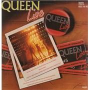 Queen Live - Rock In Rio Brazil vinyl LP