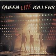 Queen Live Killers - EX UK 2-LP vinyl set
