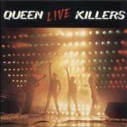 Click here for more info about 'Live Killers - Red & Green Vinyl'