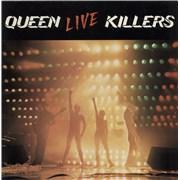 Queen Live Killers - barcoded p/s - EX UK 2-LP vinyl set