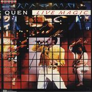 Queen Live Magic Japan vinyl LP
