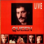 Queen Live Korea vinyl LP