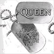 Click here for more info about 'Queen - Logo & Crest Dog Tags'