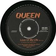 """Queen Love Of My Life - EX UK 7"""" vinyl"""