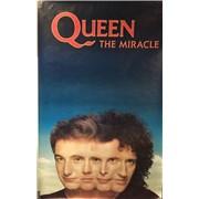 Queen Miracle UK poster Promo