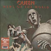 Click here for more info about 'Queen - News Of The World - Comic Con Edition + Marvel Print'
