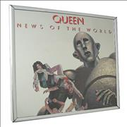 Queen News Of The World - Mirror USA memorabilia Promo