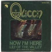"""Queen Now I'm Here Spain 7"""" vinyl"""