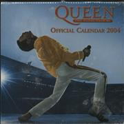 Click here for more info about 'Queen - Official Calendar 2004 - Sealed pack of TEN'