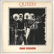 Click here for more info about 'Queen - One Vision - Double Sleeve - EX'