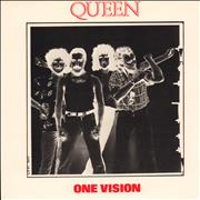 Click here for more info about 'Queen - One Vision - Double Sleeve'