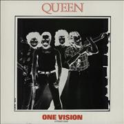 Click here for more info about 'Queen - One Vision + red inner'