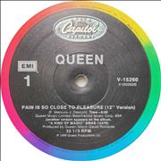 "Queen Pain Is So Close To Pleasure - EX USA 12"" vinyl"
