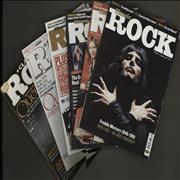 Click here for more info about 'Quantity Of Six Classic Rock Magazines'