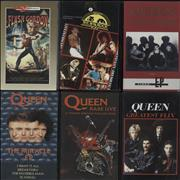 Click here for more info about 'Queen - Quantity Of Six Videos'