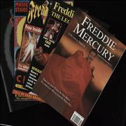 Click here for more info about 'Queen - Quantity of Five Freddie Mercury Tribute Magazines'