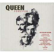 Queen Queen Forever UK 2-CD album set