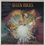 Queen Queen Rocks - Promo stickered UK 2-LP vinyl set