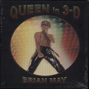 Queen Queen in 3-D [3D Stereoscopic Book] - Signed UK book