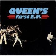 """Queen Queen's First EP - Demo - EX UK 7"""" vinyl Promo"""