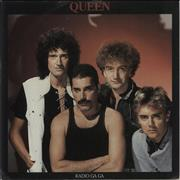 Click here for more info about 'Queen - Radio Ga Ga - 4pr'