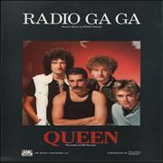 Queen Radio Ga Ga UK sheet music