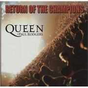 Queen Return Of The Champions UK vinyl box set