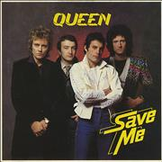 Click here for more info about 'Queen - Save Me - p/s'