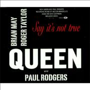 Click here for more info about 'Queen - Say It's Not True'
