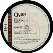 Click here for more info about 'Queen - Scandal'