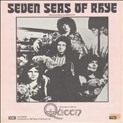 Queen Seven Seas Of Rhye - Pink & White UK sheet music