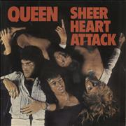 Click here for more info about 'Queen - Sheer Heart Attack - 1st + Inner - VG'