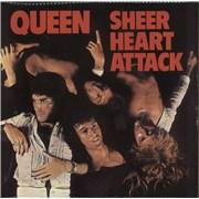 Queen Sheer Heart Attack - 3rd UK vinyl LP