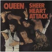 Queen Sheer Heart Attack - 2nd - EX UK vinyl LP