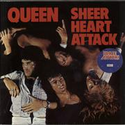 Click here for more info about 'Queen - Sheer Heart Attack - barcoded p/s + Price Attack sticker'